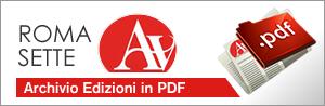 Archivio dei numeri di Roma Sette in edicola