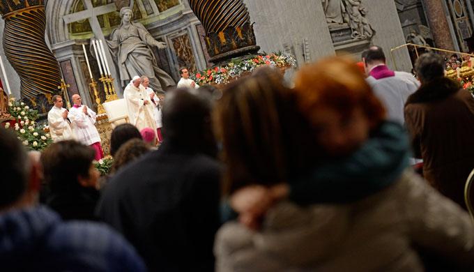 Papa, ogni famiglia sia luogo di perdono