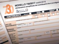 Modello 730 2017, dichiarazione dei redditi