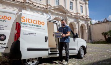 Banco Alimentare Lazio, basilica ss.Bonifacio e Alessio, 16 giugno 2020