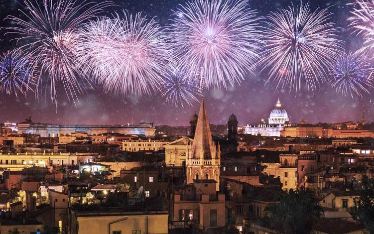 Capodanno 2018 roma in festa per 24 ore romasette for Idee per capodanno italia