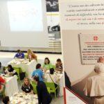 mensa caritas, il pasto dell'incontro, 19 giugno 2018