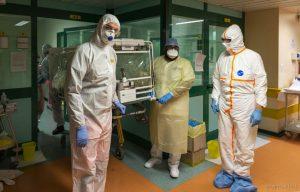 """Coronavirus, Gemelli Columbus Covid-19 Hospital """"COVID 2"""", 17 marzo 2020"""