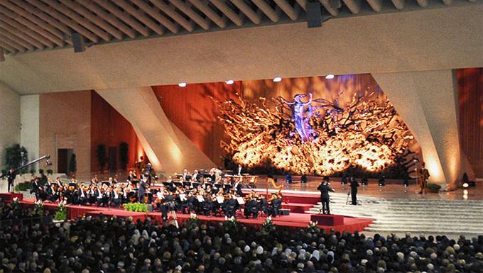 Concerto in vaticano per la carit del papa romasette - Le finestre sul vaticano ...