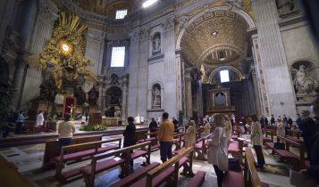 messa corpus domini, papa francesco, 14 giugno 2020