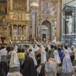 La prima Messa capitolare presieduta dal nuovo vicario e arciprete di San Giovanni in Laterano, monsignor De Donatis
