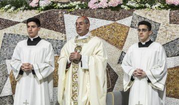 Festa Madonna della Fiducia, Seminario Romano, De Donatis, 23 febbraio 2020