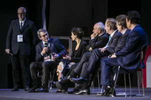 Roma Call for Ethics, David Sassoli, Paola PIsano, Vincenzo Paglia, Brad Smith, John Kelly III, Dongyu Qu, 28 febbraio 2020