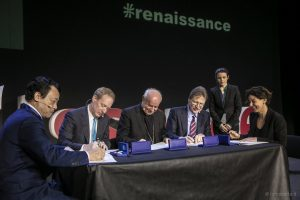 Rome Call for AI Ethics, Dongyu Qu, Brad Smith, Vincenzo Paglia, John Kelly III, Paola Pisano, 28 febbraio 2020