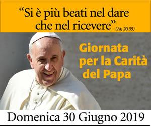Giornata per la Carità del Papa 2019