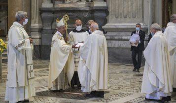 giubilei sacerdotali, De Donatis, basilica San Giovanni, 24 giugno 2020
