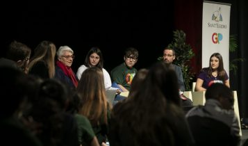 Lea Polgar incontra i giovani delle scuole, comunità di sant'egidio, brancaccio, 6 febbraio 2020
