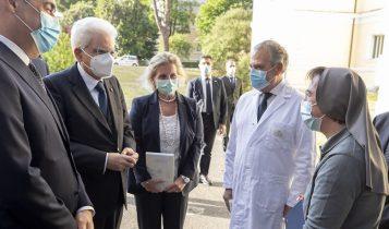 Mattarella visita lo Spallanzani, festa della Repubblica, 2 giugno 2020