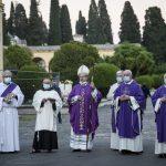 Messa per i defunti, Ricciardi, Cimitero del Verano, 2 novembre 2020
