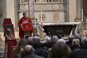 messa per don andrea santoro, 5 febbraio 2020, santa croce in gerusalemme, gianpiero palmieri
