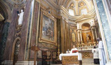 Messa a San Giuseppe dei Falegnami, De Donatis, Criscuolo, Gervasi, 19 marzo 2021
