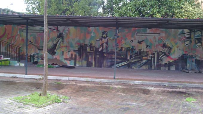 Caritas Quando Il Viaggio è Dipinto Sul Muro Romasette