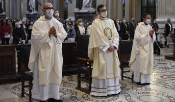 ordinazione episcopale don Dario Gervasi, San Giovanni in Laterano, 18 ottobre 2020