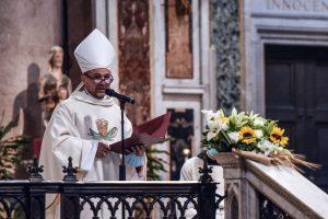 ordinazione episcopale don Benoni Ambarus, san Giovanni in Laterano, 2 maggio 2021
