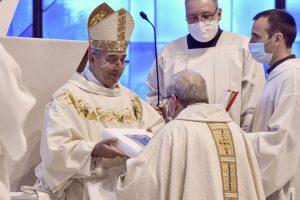 Ordinazione episcopale Enrico Feroci, santuario Divino Amore, 15 novembre 2020