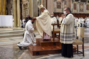 ordinazioni diaconali, De Donatis, San Giovanni in Laterano, 24 ottobre 2020