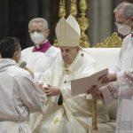 ordinazioni sacerdotali, papa francesco, san pietro, 25 aprile 2021