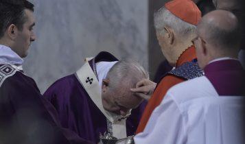 Mercoledì delle Ceneri, papa Francesco, 26 febbraio 2020