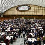 Giornata mondiale dei poveri 2017, pranzo in aula Paolo VI