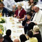 Giornata mondiale dei poveri 2017, pranzo con Papa Francesco