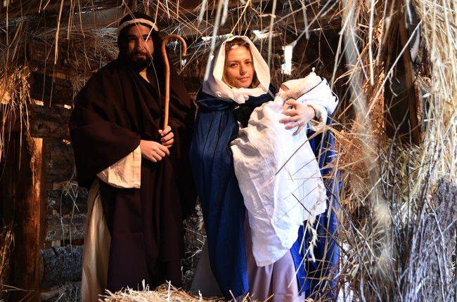 Presepe vivente allestito dalla comunità di San Giulio, 18 dicembre 2017