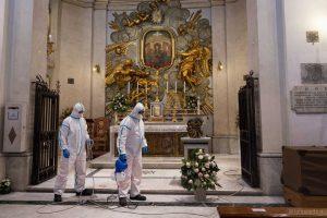 sanificazione degli interni delle chiese roma